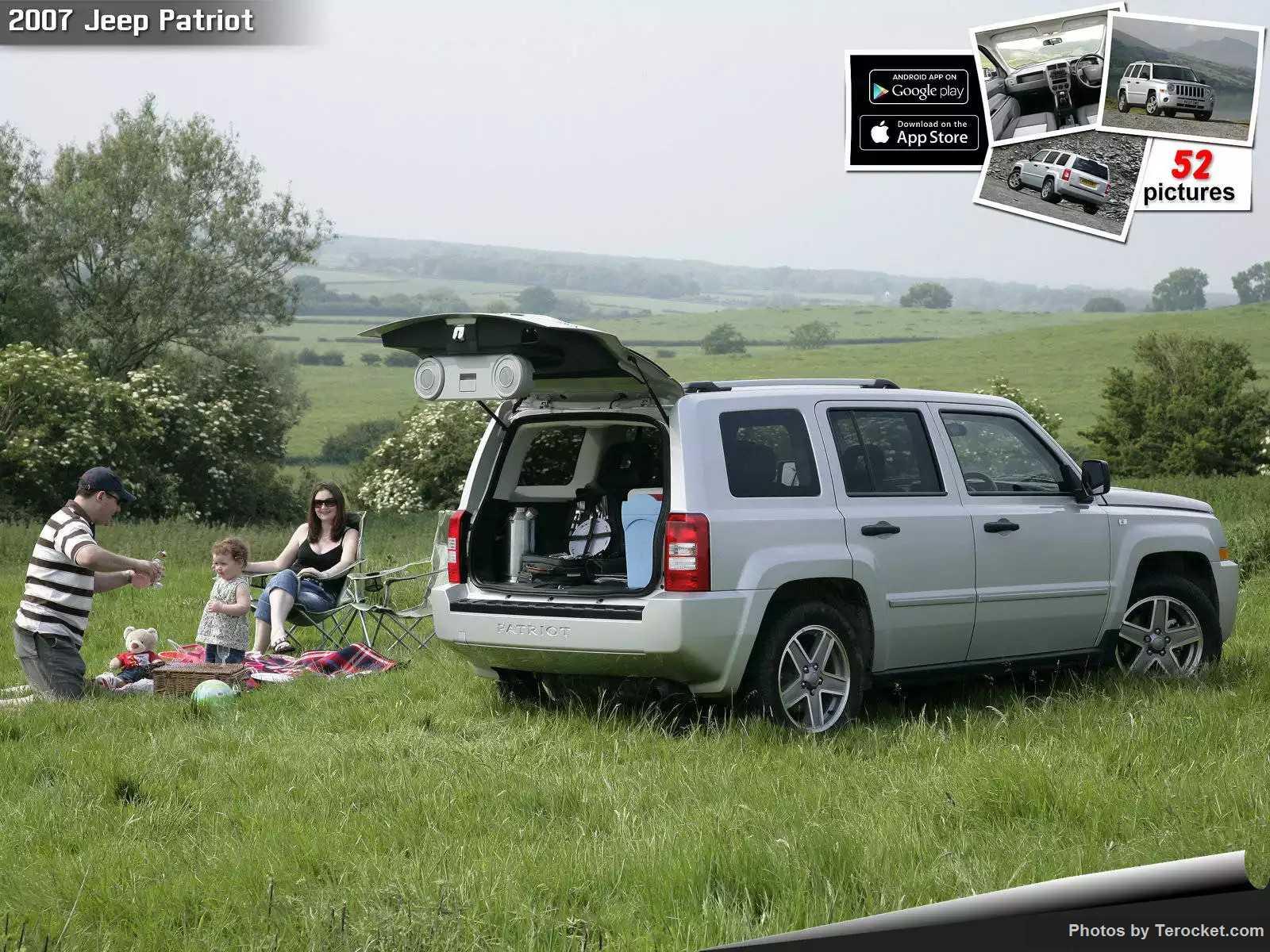 Hình ảnh xe ô tô Jeep Patriot UK Version 2007 & nội ngoại thất