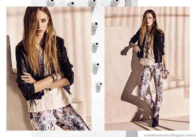Moda primavera verano 2016 Rapsodia.