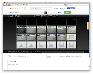 Sensr.net Camera Fields