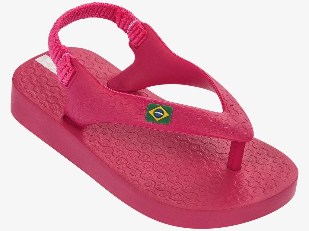 Ipanema Classic Baby Sandalen mit Zehensteg pink