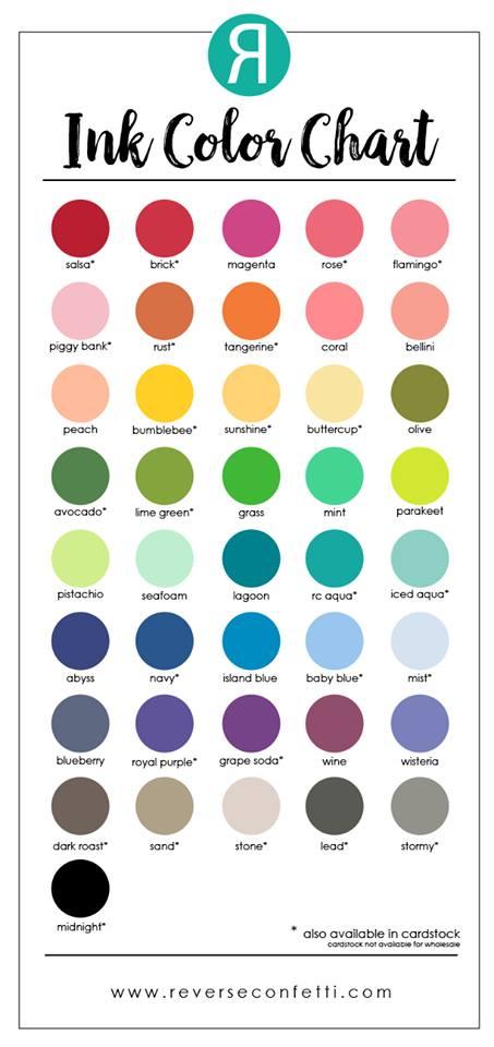 Reverse Confetti Colors!