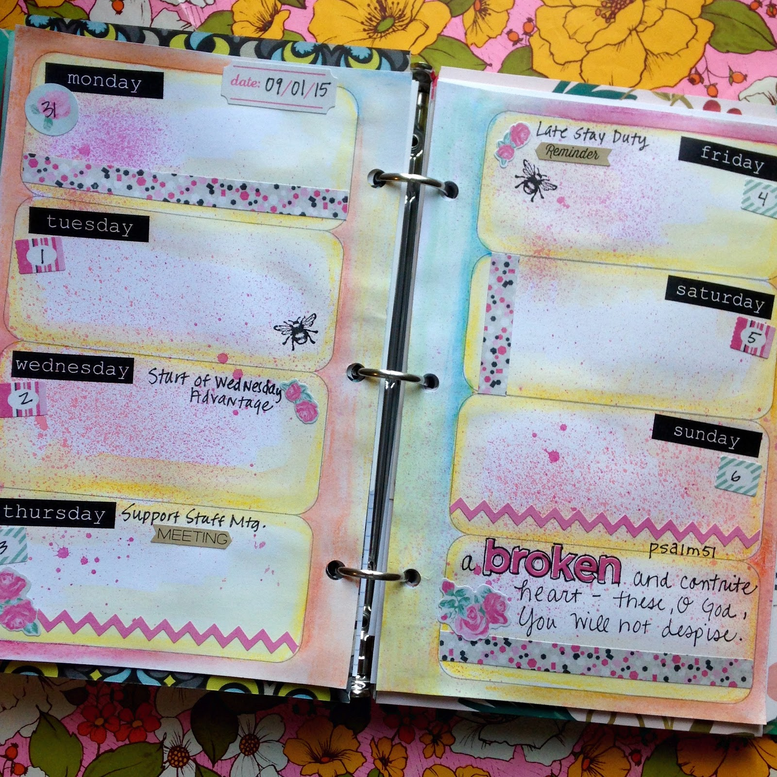 SewPaperPaint: DIY Altered Planner