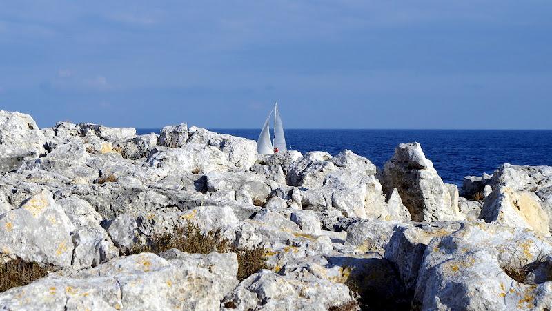 Segeln im Winter (Otranto, Apulien)
