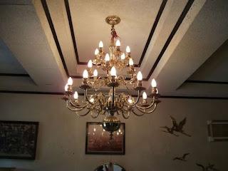 Contoh Model Lampu Gantung Ruang Tamu Terlaris