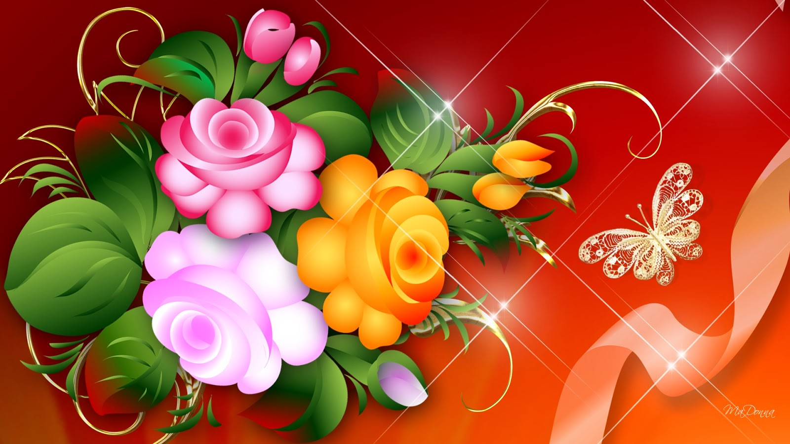 Bright Flower Wallpaper Beautiful Desktop Wallpapers 2014