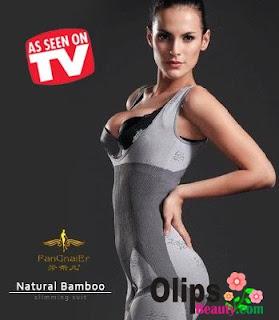 Natural Bamboo Slimming Suit ASLI