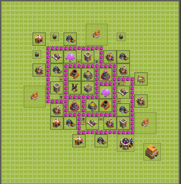 Farming Layout COC