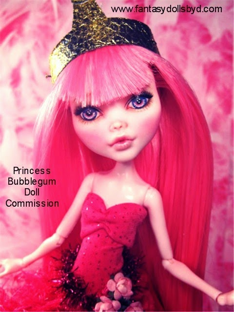 Monster High Doll Draculaura Custom OOAK