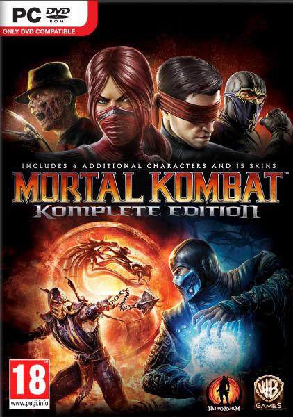 mortal kombar komplete collection pc portada