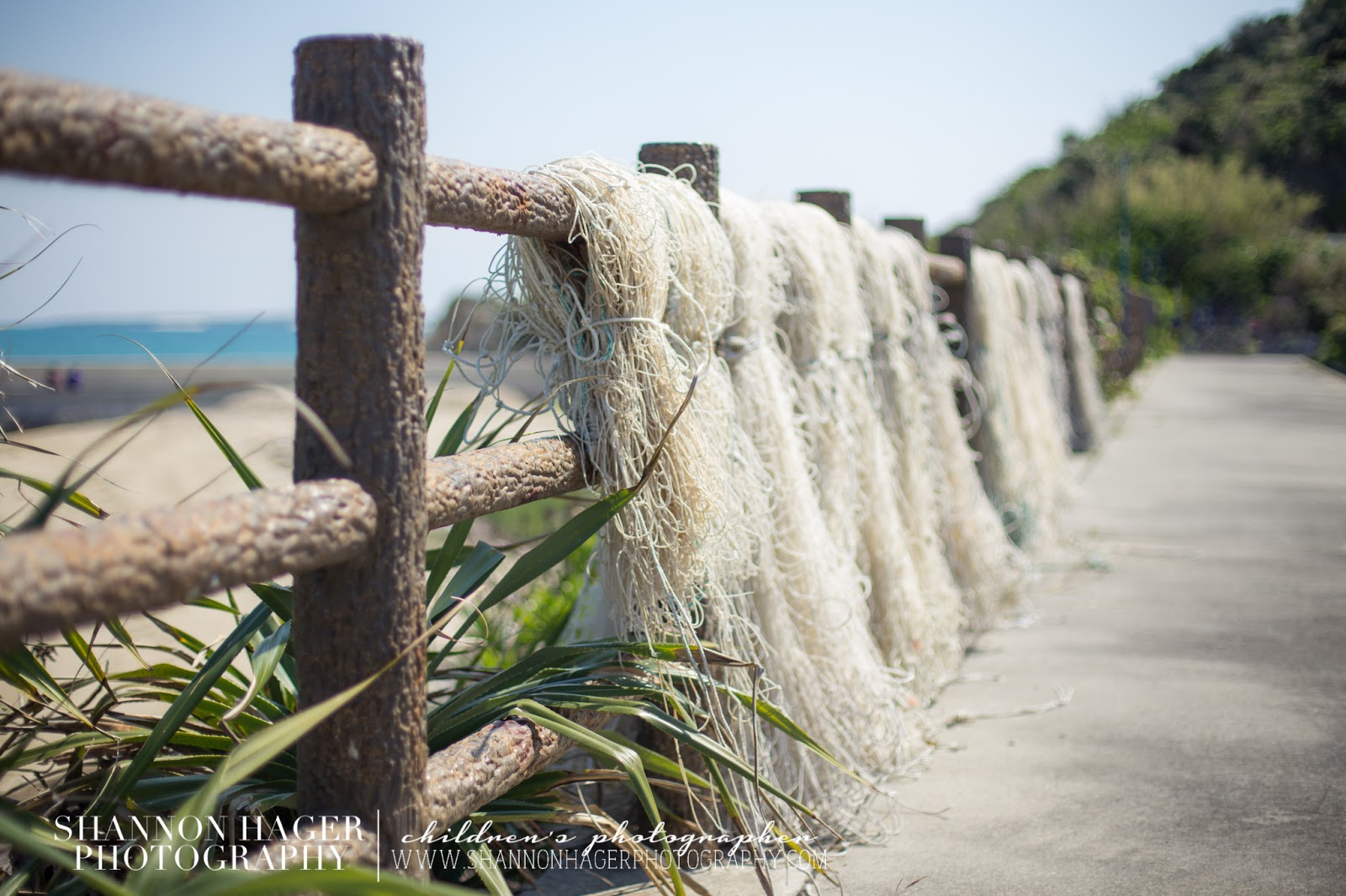 Okinawa Photography by Shannon Hager Photography, fishing nets