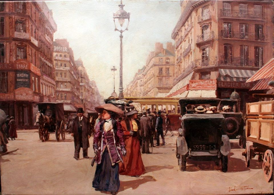Leon Zeytline Avenue de l Opera