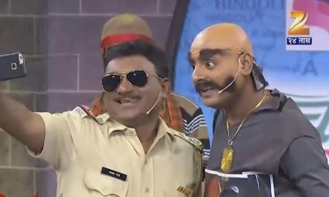 Sagar karande As Taklu Haiwan With Bhau Kadam | Chala Hawa Yeu Dya -Latur
