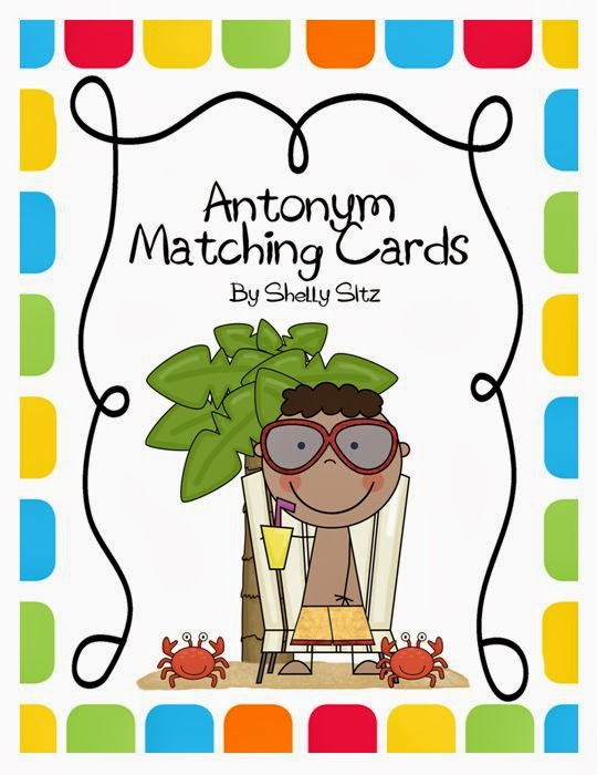 http://www.teacherspayteachers.com/Product/Antonym-Matching-Cards-257560