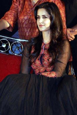 katrina kaif in black dress