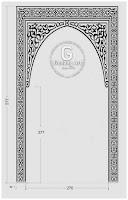 Desain Ornamen Mihrab Masjid