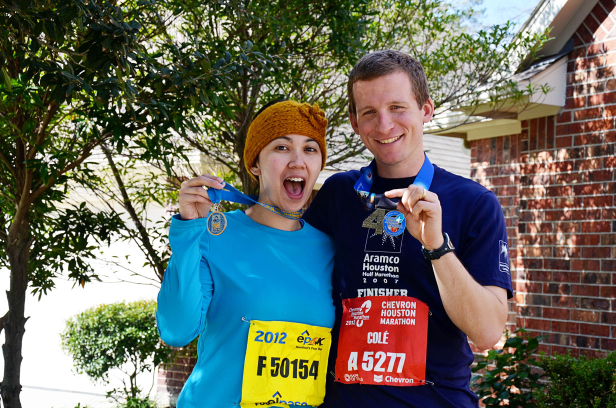 Endless Vine: Houston Chevron Marathon & El Paso 5k