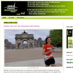 See also Paris Running Tour blog!