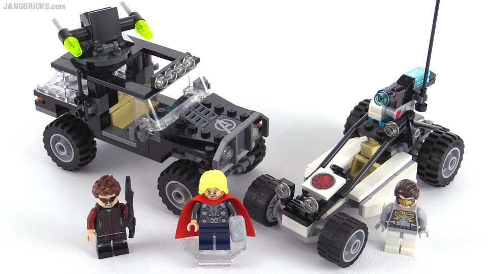 LEGO 76030 NO Mini Figs // BOX Hydra Showdown Superheroes