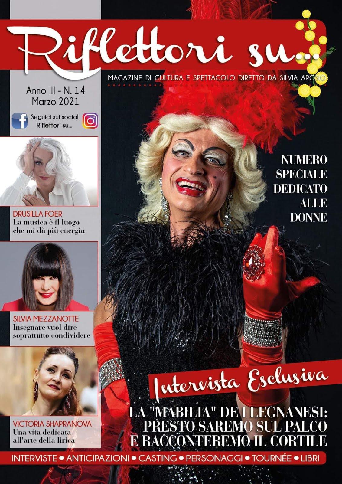 Riflettori su Magazine MARZO 2021