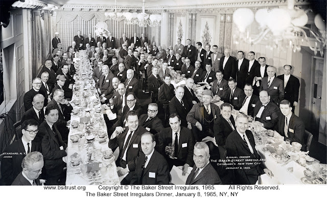 The 1965 BSI Dinner group photo