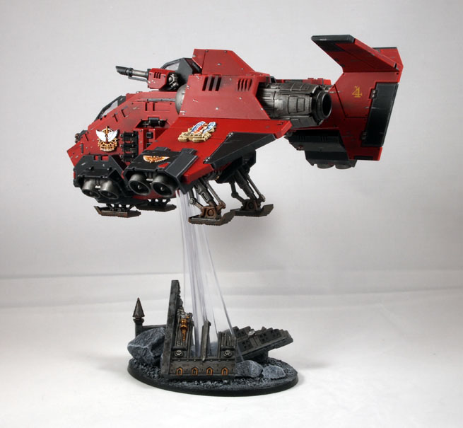 Knights Of Baal Blood Angels Blog BuildPaint A Stormraven Page 2