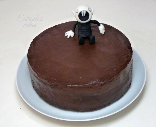 tarta de chocolate Nosferatu - 2