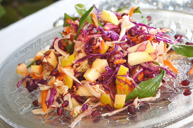 Apple 'n Cabbage Slaw