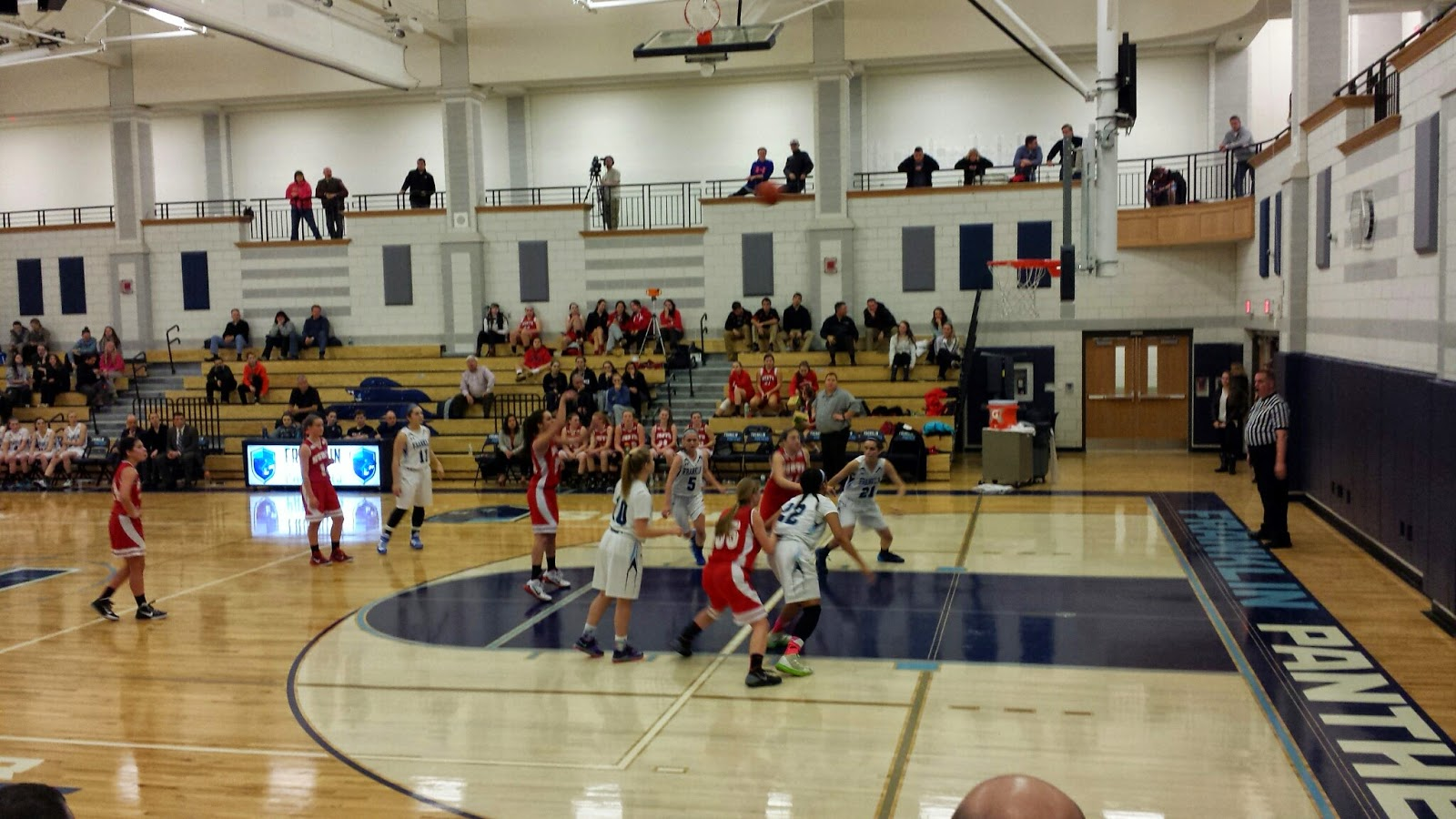 North takes a free throw
