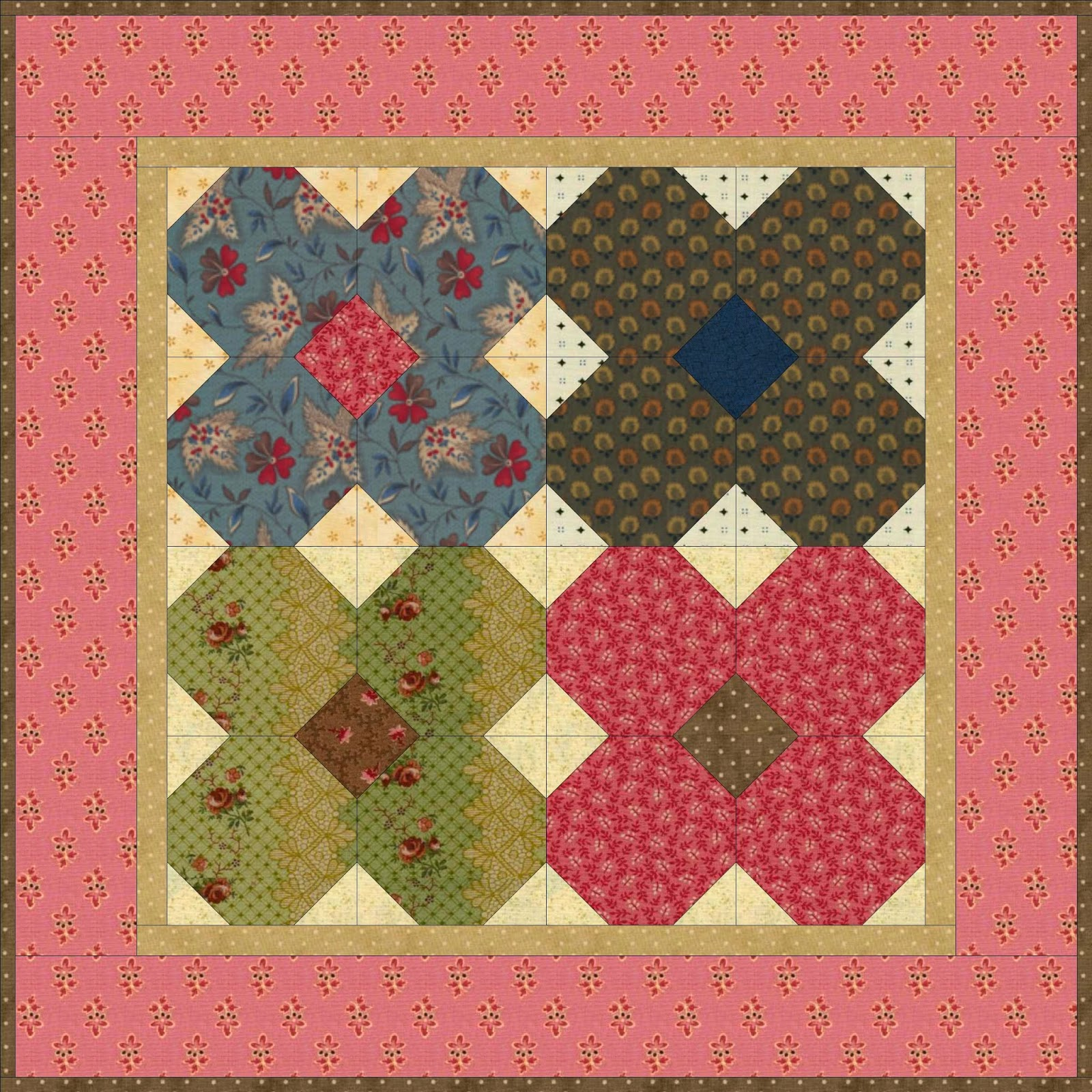 A Sentimental Quilter: What Have They Done with Spring?