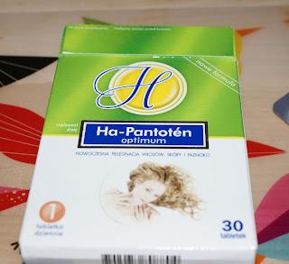 Ha-Pantoten  optimum na piękne włosy i paznokcie