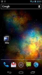 Vortex Galaxy Live Wallpaper
