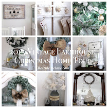 2015 Vintage Farmhouse Christmas Home Tour