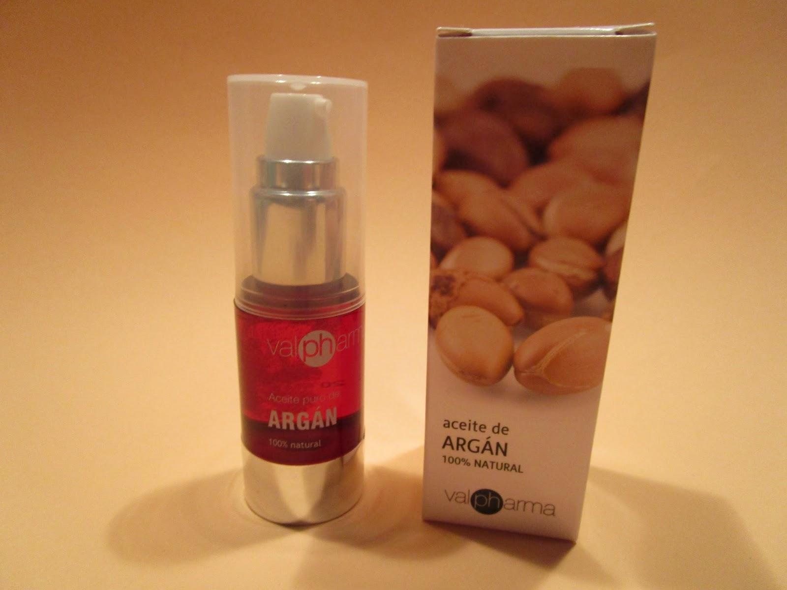 Aceite argán Valpharma