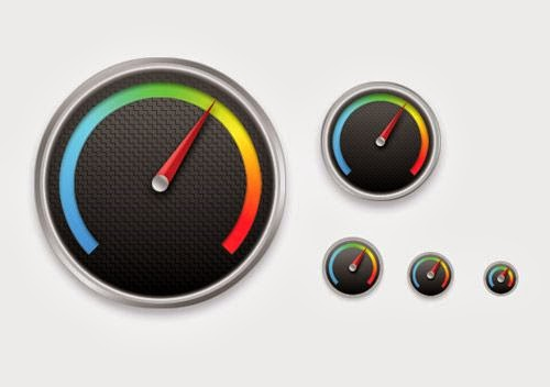 Create a Detailed Gauge Icon in Photoshop