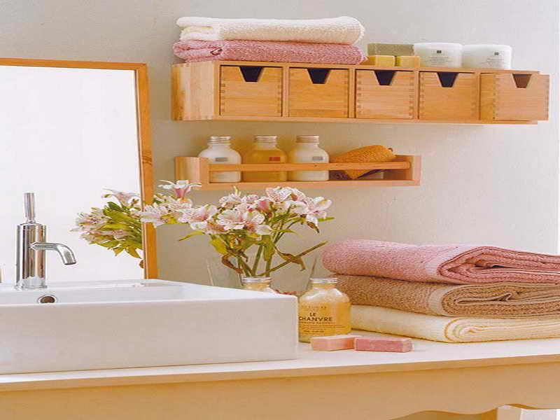 Smart bathroom organization ideas for lovely bathroom for Bathroom arrangement designs