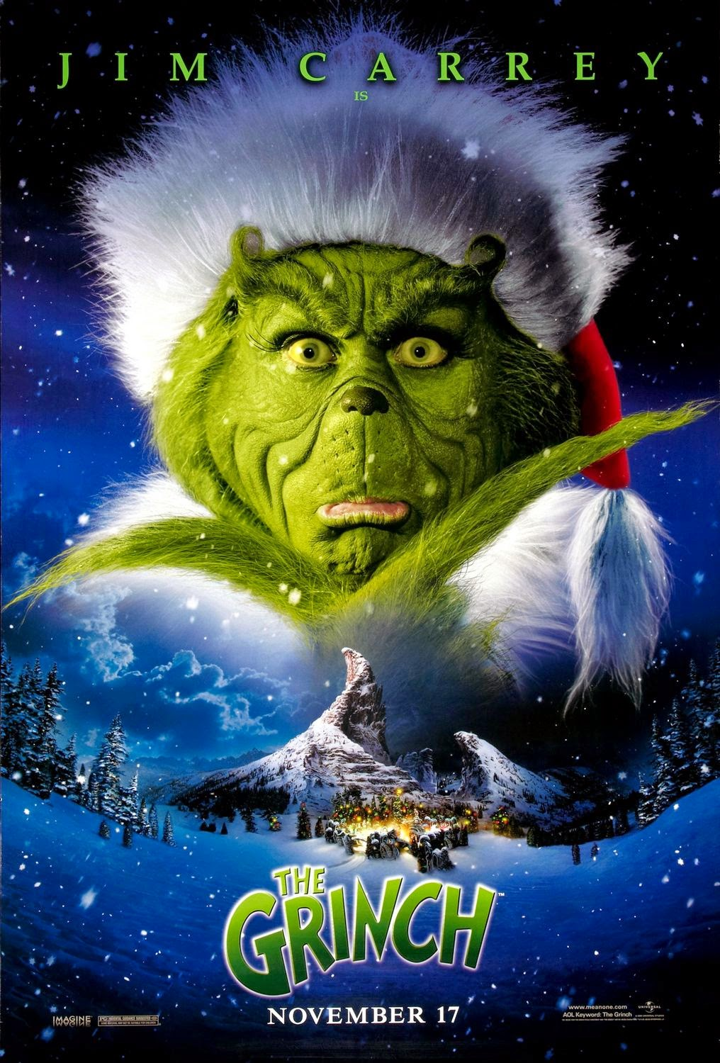 movie review dr seuss how the grinch stole christmas 2000 - How The Grinch Stole Christmas 2014