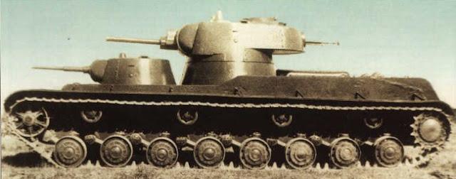 СМК многобашенный танк