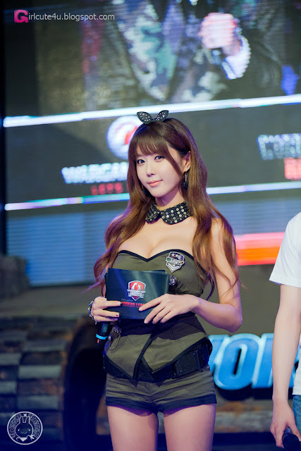 2 Heo Yoon Mi - World of Tanks  - very cute asian girl - girlcute4u.blogspot.com