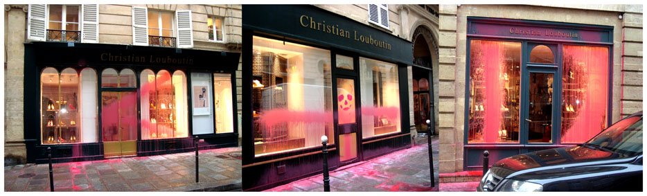christian louboutin store paris france