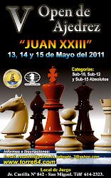 V FESTIVAL DE AJEDREZ JUAN XXIII