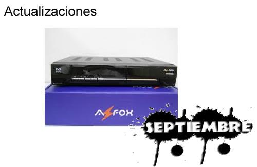 Actualización Azfox Z2SPlus 05 Septiembre 2013