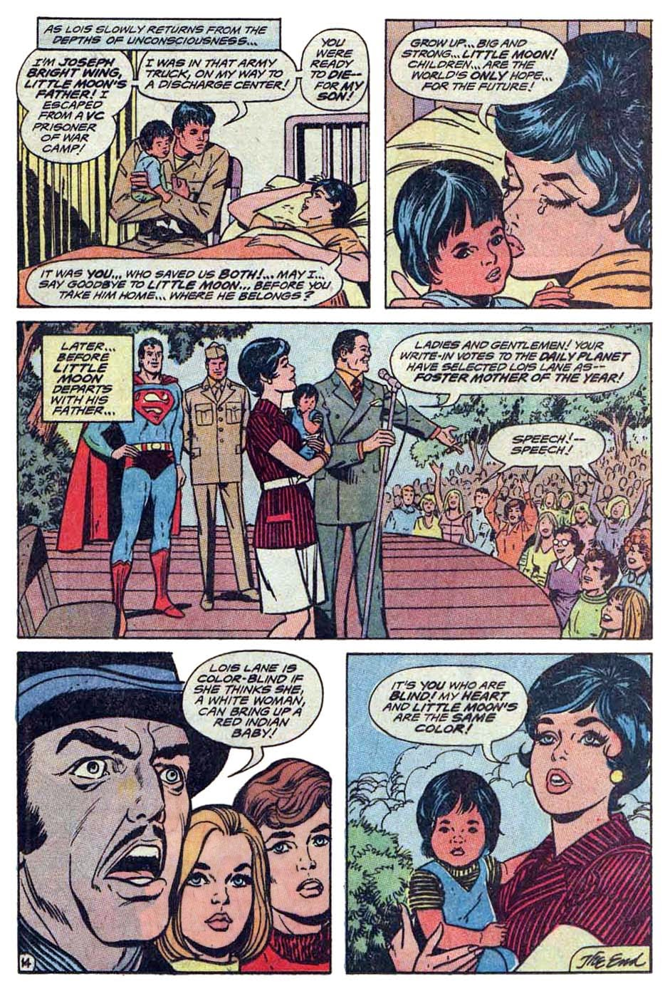 The bronze age of blogs lois lane in indian death charge supes smugly misses the point and tells lois the race war is over and her looking right at us and telling him its only a cease fire you go sister altavistaventures Gallery