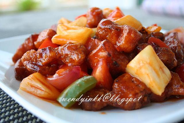 pork recipe sweet and sour pork sweet and sour pork 3 recipe key ...