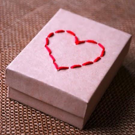 Кутия със сърце за Свети Валентин