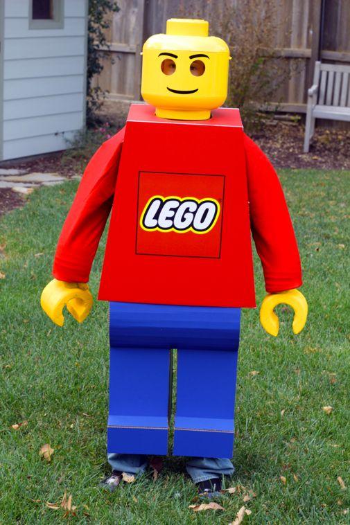 Project Denneler Lego Man Costume