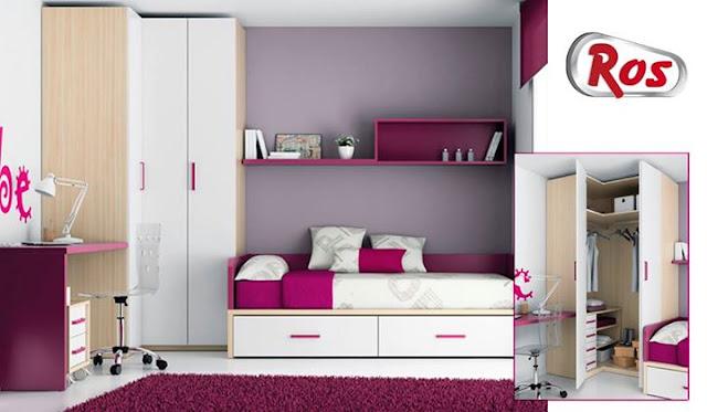 Los armarios de muebles ros espacio y dise o a la vez for Muebles infantiles ros