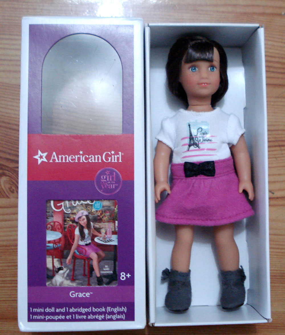 lissie lilly girl of the year 2015 grace mini doll