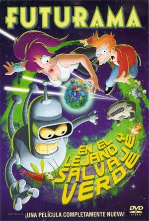 Futurama – En el Lejano y Salvaje Verde (2009) | 3gp/Mp4/DVDRip Latino HD Mega