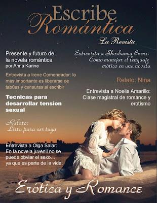 Revista Escribe Romántica.