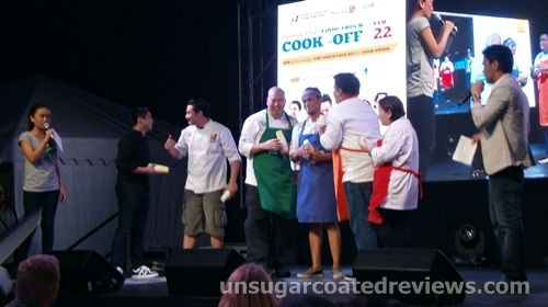 celebrity chefs at the Celebrity Chef Cook-off (Manila Food and Wine Festival 2013)